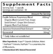 Dr. Mercola's Purple Defense (30 Capsules) • Ingredients • Mile High Vitamins