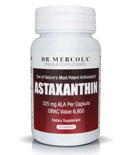 Dr. Mercola's Astaxanthin with ALA (30 Capsules) • Mile High Vitamins