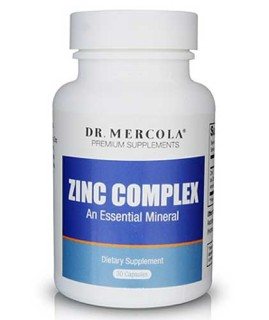 Dr. Mercola's Zinc Formula (30 Capsules) • Mile High Vitamins