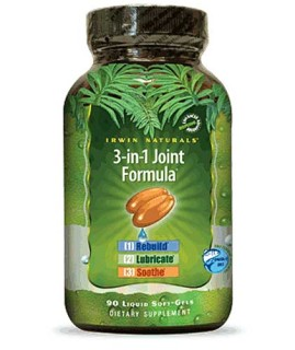 Irwin Naturals 3-in-1 Joint Formula (90 Soft-Gels) • Mile High Vitamins