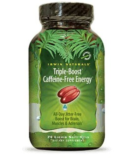 Irwin Naturals Triple Boost Caffeine-Free Energy • Mile High Vitamins