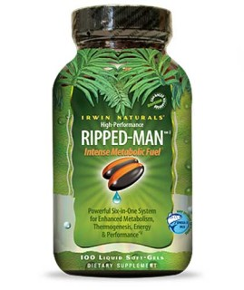 Irwin Naturals Ripped-Man (100 Soft-Gels) • Mile High Vitamins