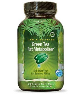 Irwin Naturals Green Tea Fat Metabolizer (75 Soft-Gels) • Mile High Vitamins