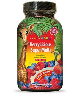Irwin Kids BerryLicious Super Multi (30 Soft-Chews) • Mile High Vitamins