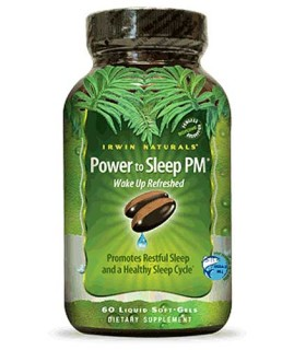 Irwin Naturals Power to Sleep PM (60 Soft-Gels) • Mile High Vitamins