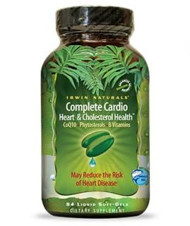Irwin Naturals Complete Cardio (84 Soft-Gels) • Mile High Vitamins