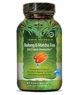Irwin Naturals Oolong and Matcha Tea • Mile High Vitamins