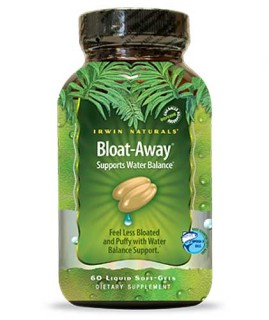 Irwin Naturals Bloat-Away (60 Soft-Gels) • Mile High Vitamins