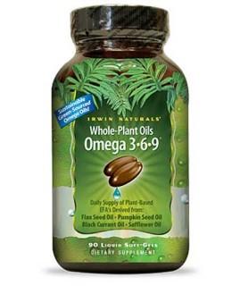 Irwin Naturals Whole-Plant Oils Omega 3-6-9 • Mile High Vitamins