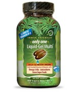 Irwin Naturals Only One Liquid-Gel Multi with Iron • Mile High Vitamins