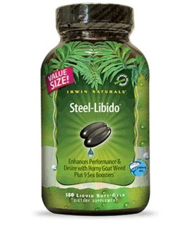 Irwin Naturals Steel-Libido (150 Soft-Gels) • Mile High Vitamins