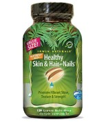 Irwin Naturals Healthy Skin and Hair Plus Nails (Nutrient Rich) (120 Soft-Gels) • Mile High Vitamins