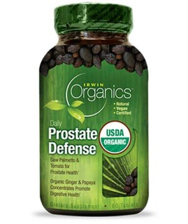 Irwin Organics Daily Prostate Defense (60 Tablets) • Mile High Vitamins