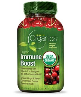 Irwin Organics Immune Boost (60 Tablets) • Mile High Vitamins