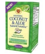 Nature's Secret Soothing Coconut & Aloe Natural Laxative