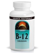 Source Naturals Vitamin B-12 (Sublingual) (2000mcg) • Mile High Vitamins