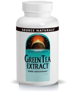 Source Naturals Green Tea Extract (Super Antioxidant) (100mg) (60 Tablets) • Mile High Vitamins