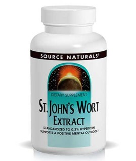 Source Naturals St. John's Wort Extract (0.3% Hypericins) (300mg) (60 Tablets) • Mile High Vitamins