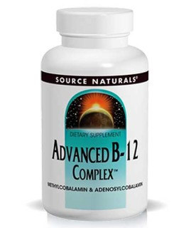 Source Naturals Advanced B-12 Complex Sublingual (5mg) (30 Tablets) • Mile High Vitamins