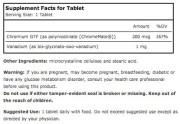 Source Naturals Vanadium with Chromium (Healthy Blood Sugar) (180 Tablets) • Ingredients • Mile High Vitamins