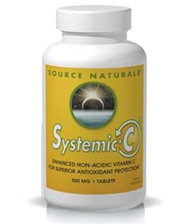Source Naturals Systemic C (Non-Acidic Vitamin C) • Mile High Vitamins